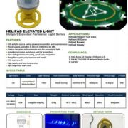 Suppy Lighting Led Helipad landed, rooftop , marine , runway airport aviation